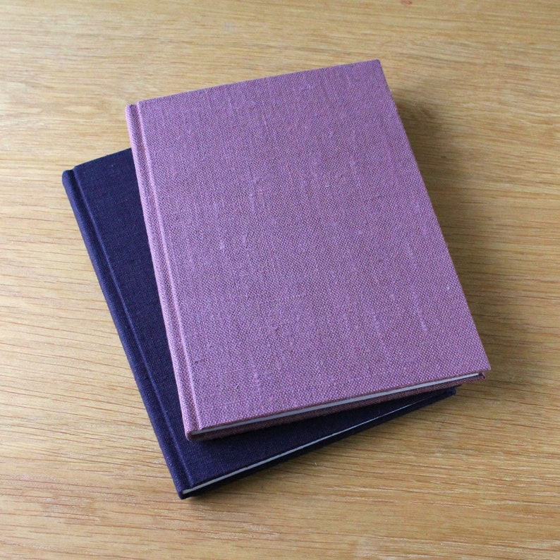 Large Hardcover Journal Notebook with Linen Covers image 0