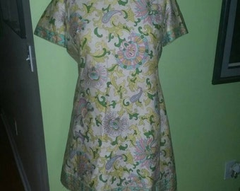 baccce6cb98c Vintage McMullen Lord   Taylor Flowered Print Summer Shift