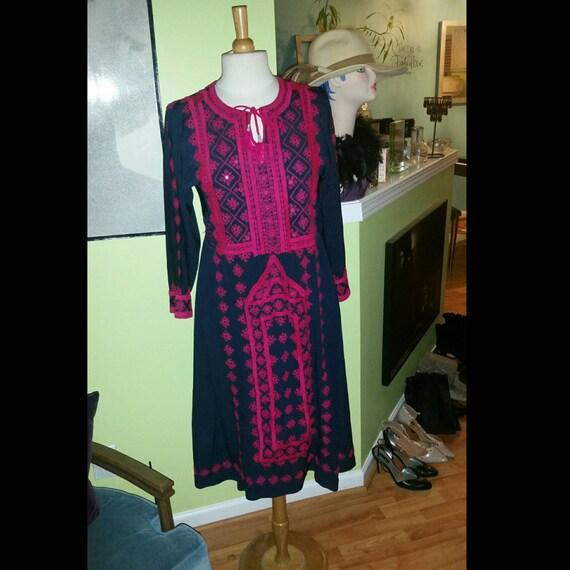 Exquisite Elaborately Embellished Kuchi Styled Dre