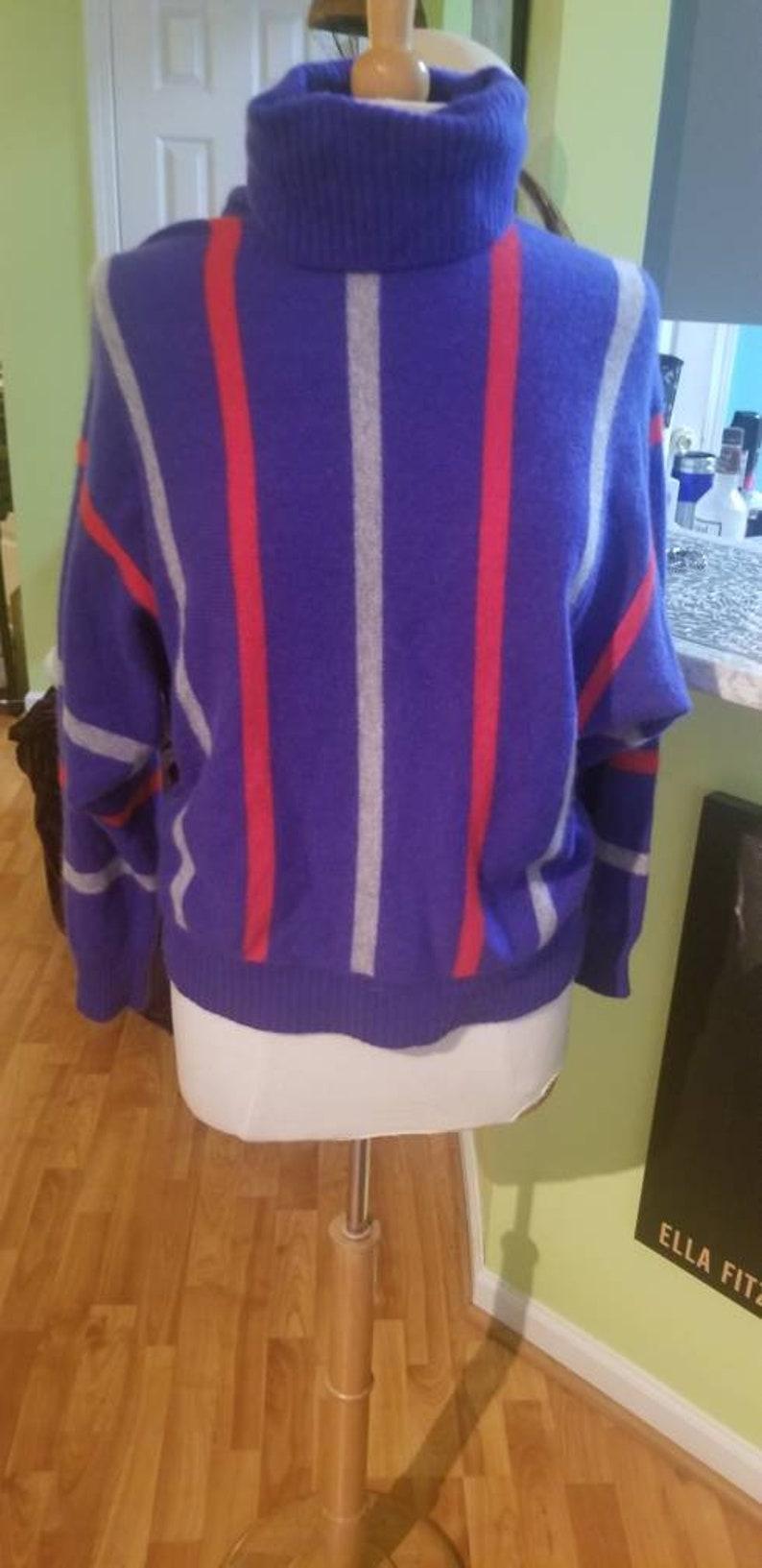 6a2c75cdaa9e Vintage Sportwhirl Plush 2-Ply Cashmere Turtleneck Sweater