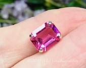 Rose Pink Transparent Oct...