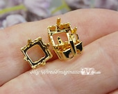 3pcs Silver or Gold Plate...