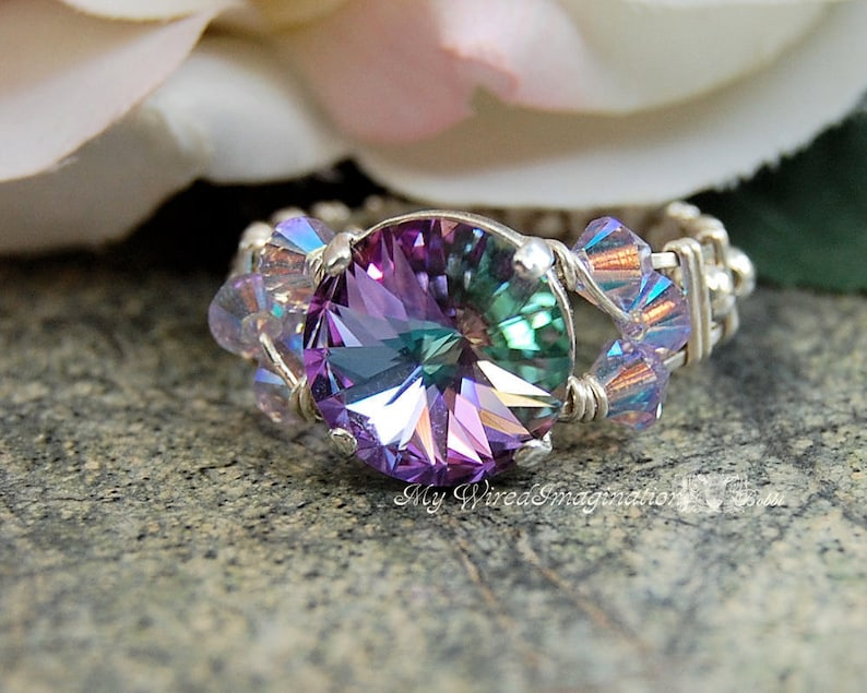 Crystal Ring Tutorial Intermediate Wire Wrapping image 0