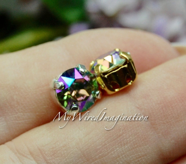 Paradise Shine 2 Pieces Swarovski Crystal 39ss Xirus Chaton image 0