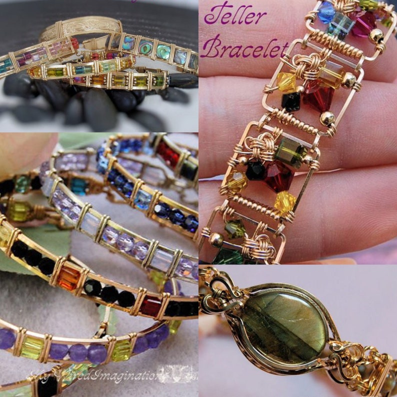 Bracelet Lovers Learn To Wire Wrap 4 Jewelry Patterns image 0