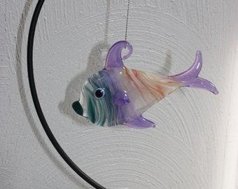 Glass Fish Ornament Etsy