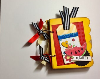 Oh Sweet! Chipboard Mini Album KIT