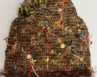 Mary Frances purse bag vintage strap habdbag