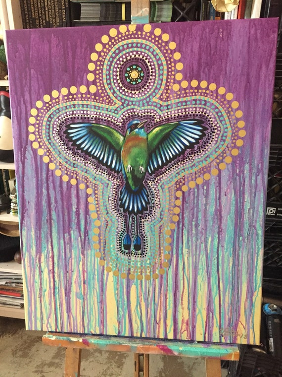 Luis valle art aka el changuri muralist peacock art basel wynwood 2018