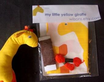 my little yellow giraffe kit