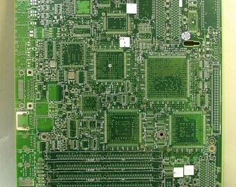 techie clipboard recycled circuit board geekery mc8 rh etsy com