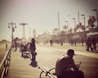Don't Call It a Comeback -- Coney Island, NY, boardwalk photo