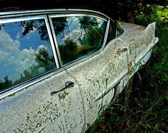 Exterior – vintage car photograph