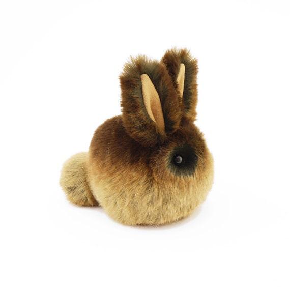 Stuffed Easter Bunny Stuffed Animal Cute Plush Toy Bunny Etsy
