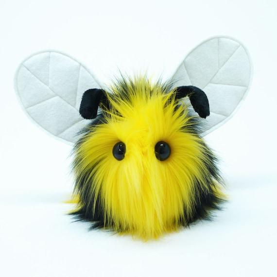 Stuffed Animal Cute Plush Toy Bumble Bee Kawaii Plushie Bumble Etsy