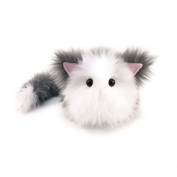 Stuffed Cat Stuffed Animal Cute Plush Toy Cat Kawaii Plushie Etsy
