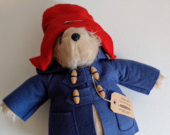 Vintage 1981 Paddington Bear by Gabrielle Designs  from The Bear Garden