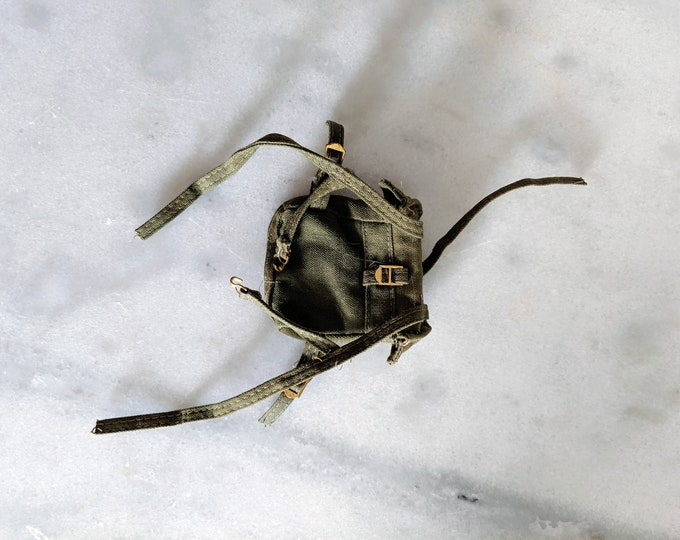 1970s Vintage G.I. Joe Figure Backpack