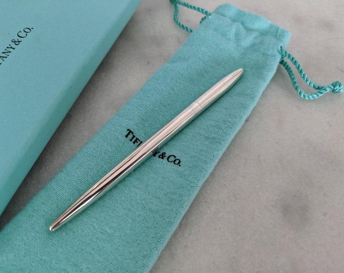 Vintage EDC Tiffany co sterling silver ballpoint purse pen