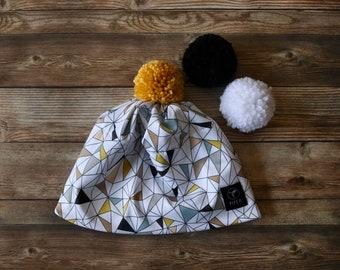 Everyday Beanie   Pom Pom Hat   Ski Hat   Color Options