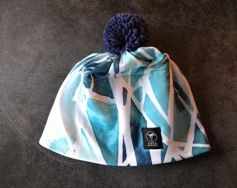Everyday Beanie   Pom Pom Hat   Ski Hat   Glacial Drift