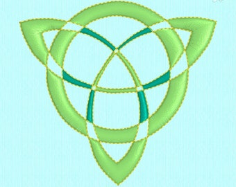 Celtic Knot Trinity Knot machine embroidery design file