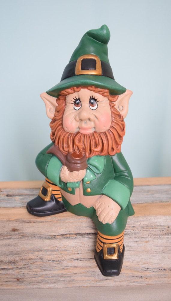 Leprechaun St. Patricks Day Irish Lucky Redhead Home   Etsy
