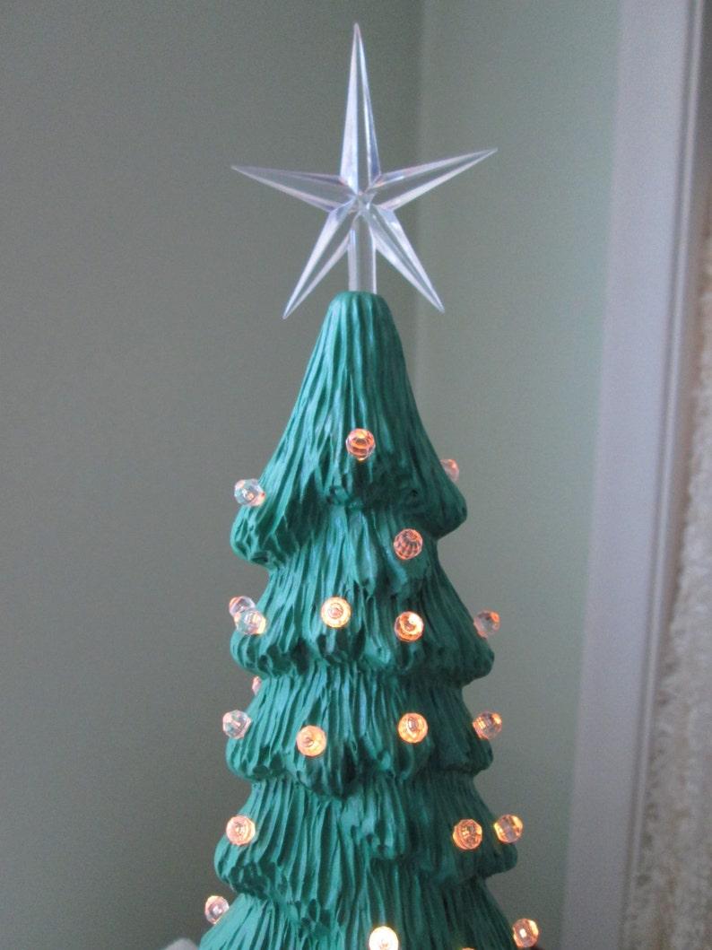 Tall Slim Christmas Tree.Ceramic Christmas Tree Lighted Christmas Tree Tall Slim Tree Christmas Light Christmas Centerpiece Christmas Tree Centerpiece