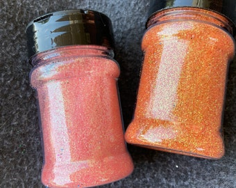 "Greasepaint Mini Bundle Blush and Bronzer Iridescent/Rainbow Polyester Glitter 0.008"" Ultra Fine"