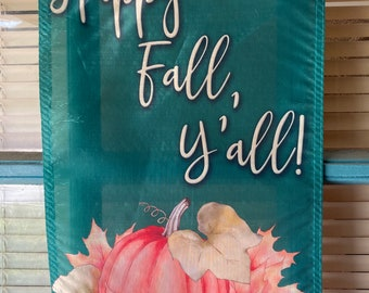 Fall Garden Flag 12X18