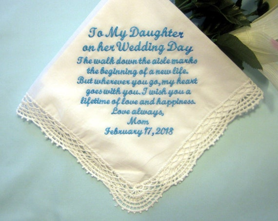 Father Gift To Daughter On Wedding Day: Mother Or Father To Daughter Gift On Her Wedding Day