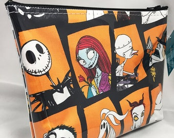 Make Up Bag - Nightmare Before Christmas Zipper Pouch