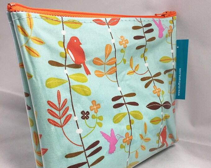Make Up Bag - Put a Bird On It Zipper Pouch