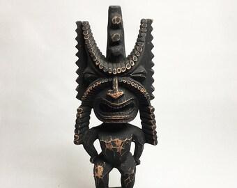 Tiki Figurine - Hawaiian God of Winning