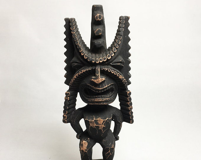 Tiki Figurine - Hawaiian God of Winning