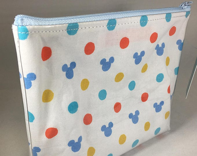 Make Up Bag - Hidden Mickey Zipper Pouch