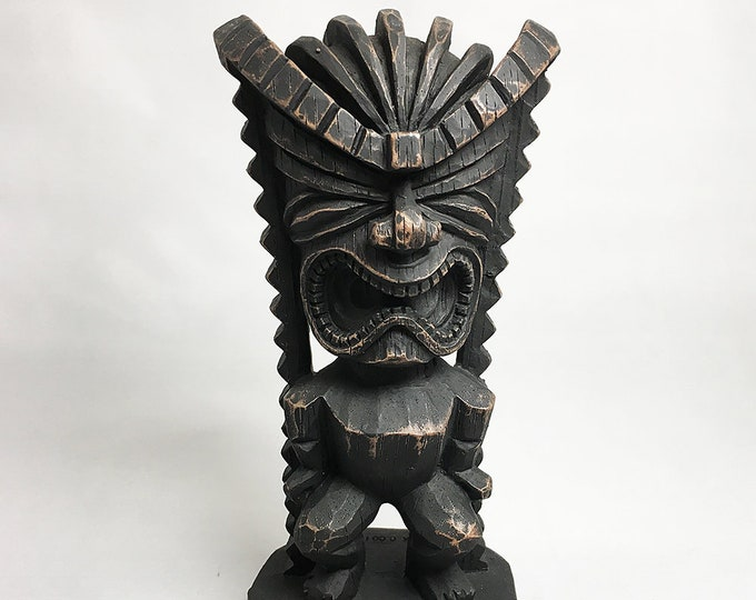 Tiki Figurine - Hawaiian God of Money (Good Fortune)