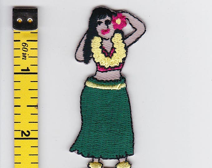 Iron On Patches - Hula Doll