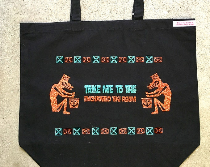 Tote Bag - Disney Take Me to the Enchanted Tiki Room Limited Edition