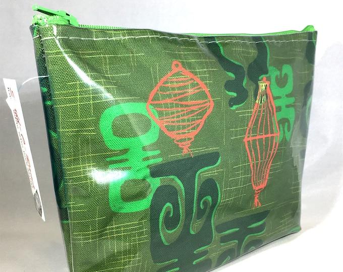 Make Up Bag - Honolulu Chinatown by Dawn Frasier Zipper Pouch