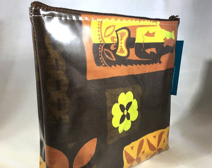 Make Up Bag - MidCentury Tikis by uhlenkott Zipper Pouch