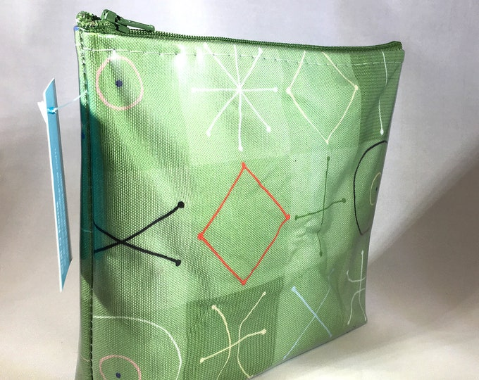 Make Up Bag - Modquilt by Bob Staake Zipper Pouch