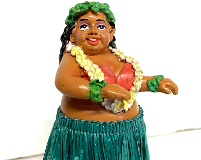 Mini Dashboard Sweet Wahine Hula Doll