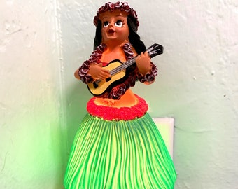 Night Light -  Hula Girl with Ukulele
