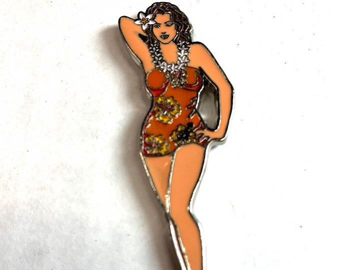 Refrigerator Magnets - Pin Up Wahine