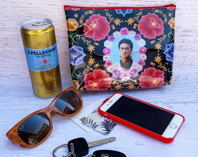 Frida - Black - Make Up Bag