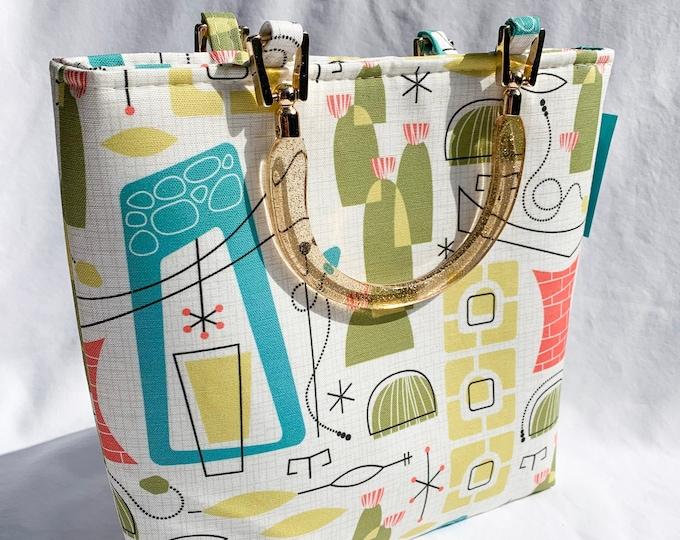 Handbag - Southwest Desert Mid Century Modern
