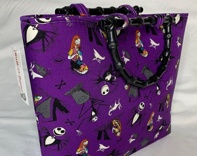 Nightmare Before Christmas - Tote Bag - Purse - Handbag