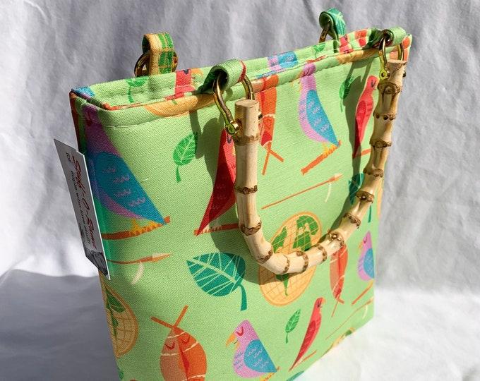 Tote Bag Purse Handbag - Mid Century Adventureland