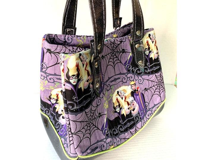 Disney Villains - Glitter Vinyl Shoulder Bag - Handbag - Purse - Bag